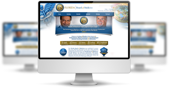 Florida Board of Medicine New Website